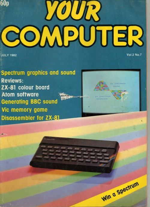 Scan of Document: Your Computer - July 1982
