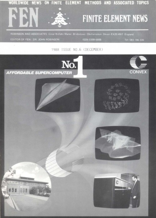 Scan of Document: Finite Element News Issue 6 December 1988