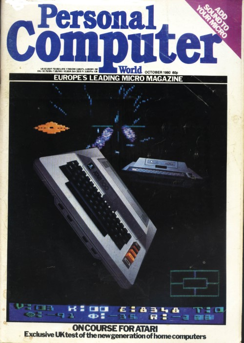 Scan of Document: Personal Computer World - October 1980