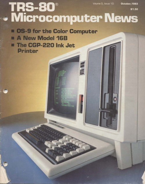 Scan of Document: TRS-80 Microcomputer News October 1983
