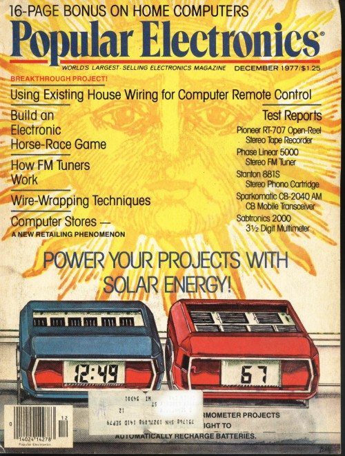 Scan of Document: Popular Electronics - December 1977