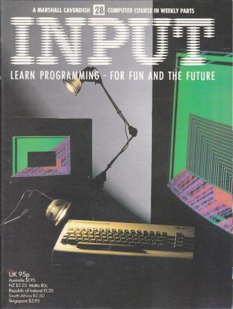 Scan of Document: Input - Issue 28