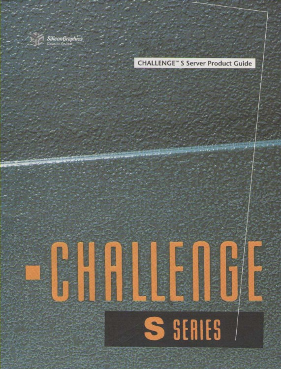 Scan of Document: Challenge S Server Products Guide