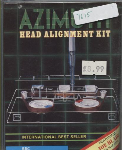 Scan of Document: Azimuth Head Alignment Kit/Joe Blade