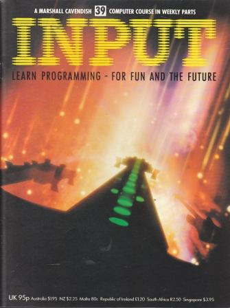 Scan of Document: Input - Issue 39