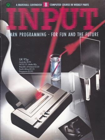 Scan of Document: Input - Issue 8