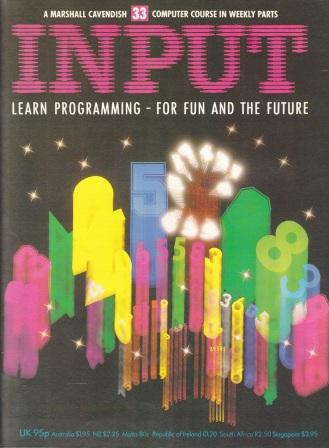 Scan of Document: Input - Issue 33