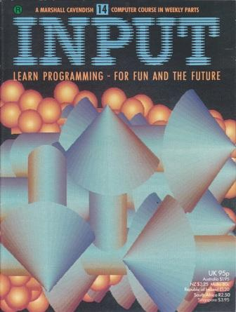 Scan of Document: Input - Issue 14
