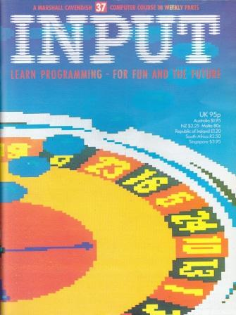Scan of Document: Input - Issue 37