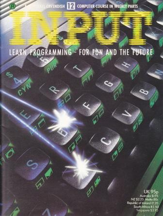 Scan of Document: Input - Issue 12