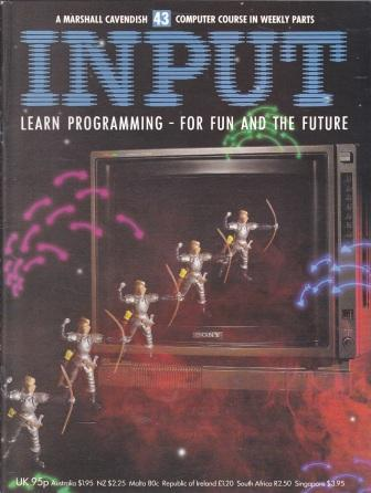 Scan of Document: Input - Issue 43