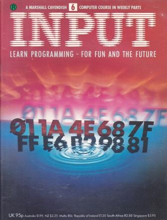 Scan of Document: Input - Issue 6