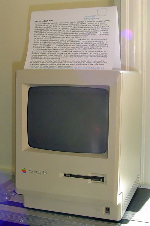 Photograph of Apple_Mac_Plus