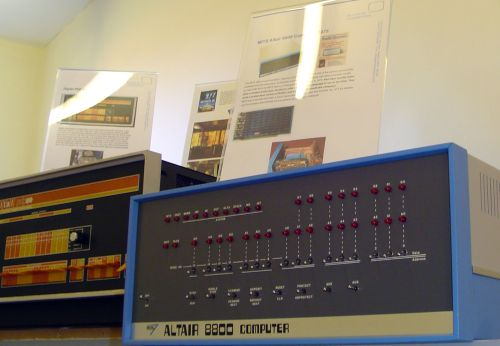 Photograph of MIST Altair 8800 and Digital PDP-8e