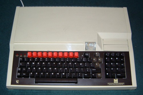 Photograph of BBC Master Computer (Front View)