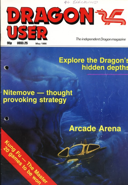 Scan of Document: Dragon User - May 1986