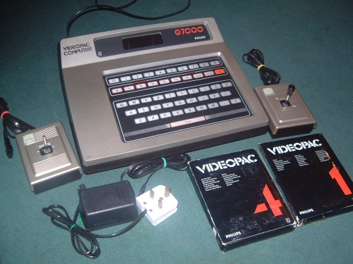 Photograph of Philips G7000 Games Console