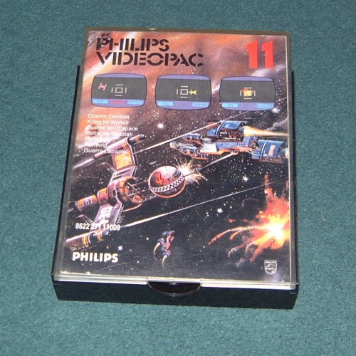 Photograph of Philips G7000 - Videopac 11 - Cosmic Conflict