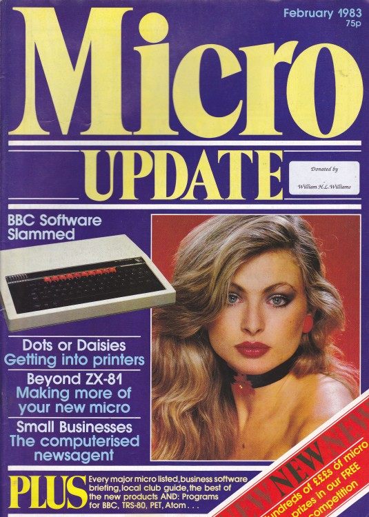 Scan of Document: Micro Update - February 1983