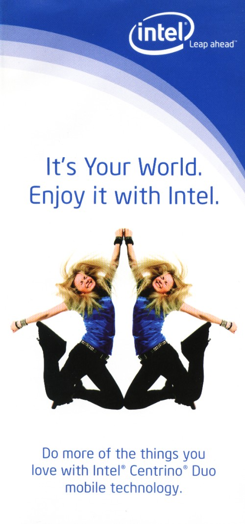 Scan of Document: Intel Centrino Duo Leaflet