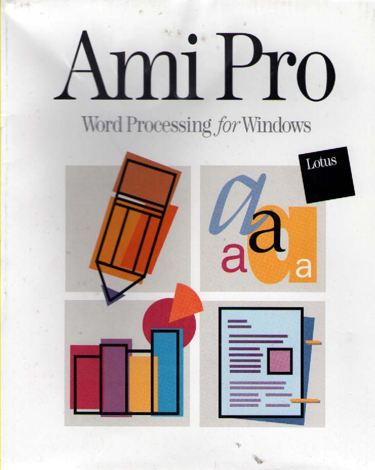 lotus ami pro for windows software computing history the centre for computing history