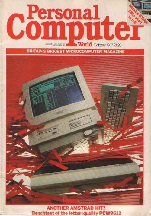Scan of Document: Personal Computer World - October 1987