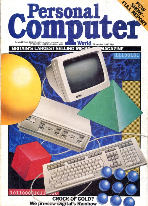 Scan of Document: Personal Computer World - November 1982