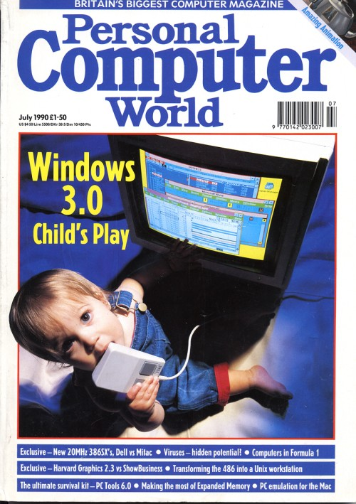 Scan of Document: Personal Computer World - July 1990