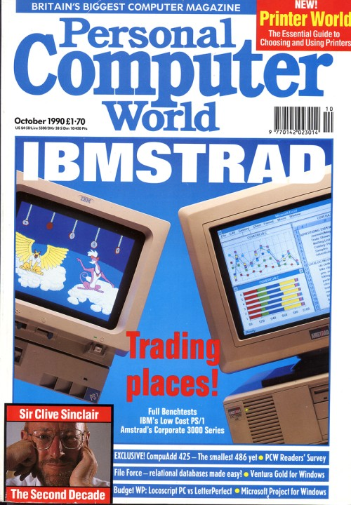 Scan of Document: Personal Computer World - October 1990