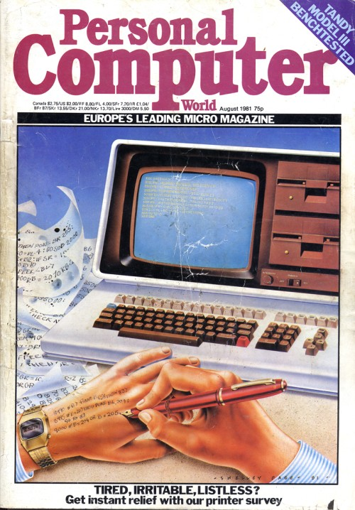Scan of Document: Personal Computer World - August 1981