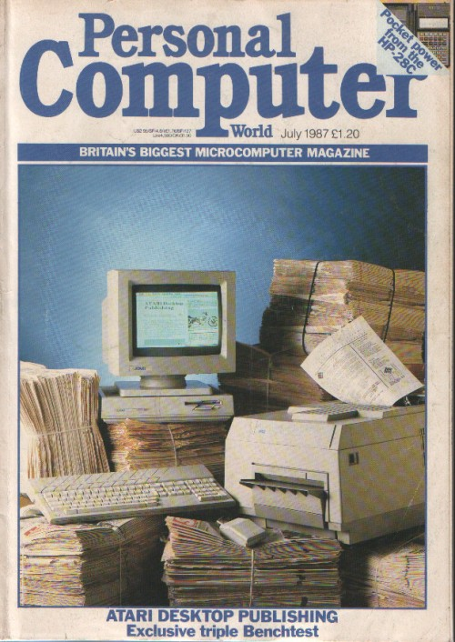 Scan of Document: Personal Computer World - July 1987