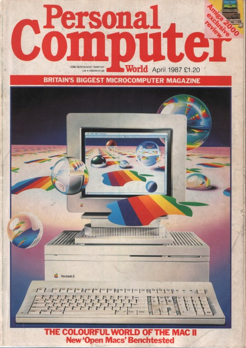 Scan of Document: Personal Computer World - April 1987
