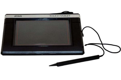Scan of Document: Atari Touch Tablet