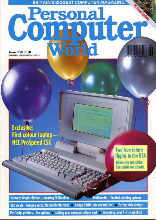 Scan of Document: Personal Computer World - June 1990