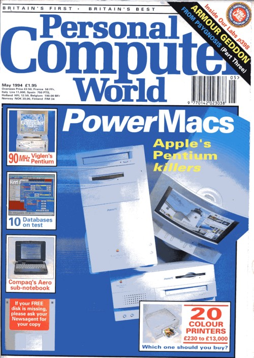 Scan of Document: Personal Computer World - May 1994