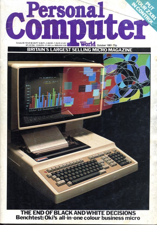Scan of Document: Personal Computer World - October 1981