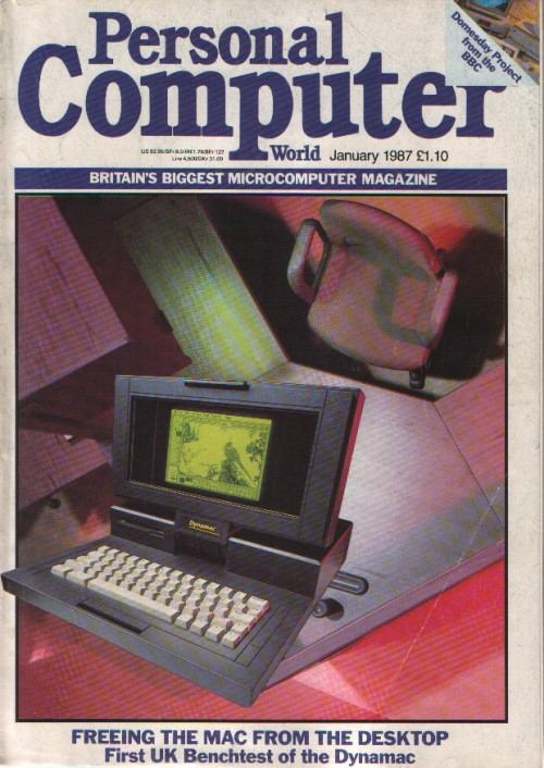 Scan of Document: Personal Computer World - January 1987