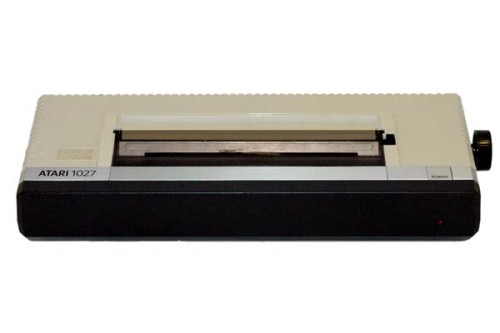 Scan of Document: Atari 1027 Letter Quality Printer