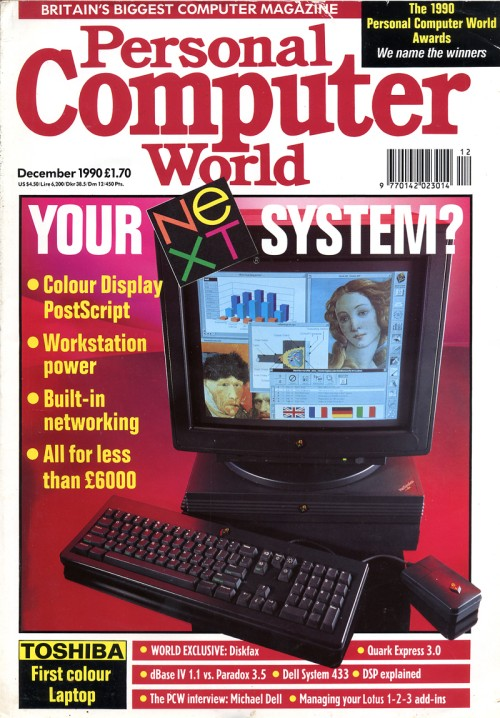 Scan of Document: Personal Computer World - December 1990