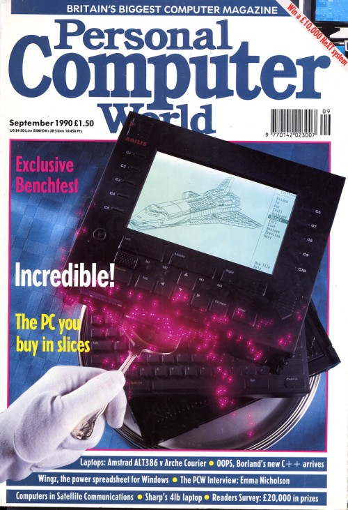 Scan of Document: Personal Computer World - September 1990