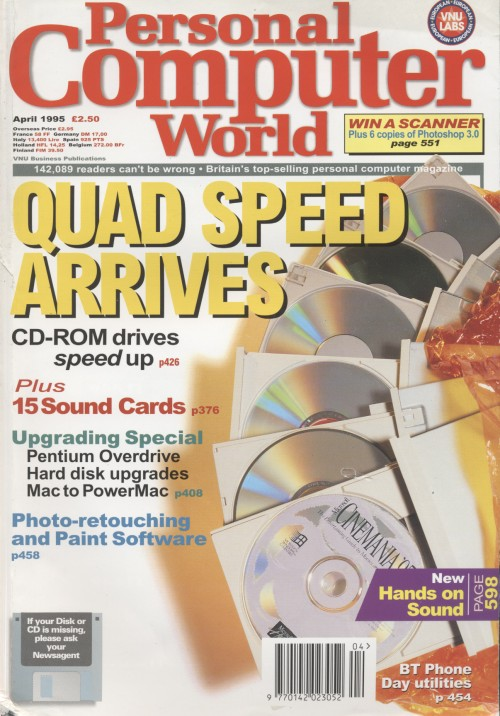 Scan of Document: Personal Computer World - April 1995
