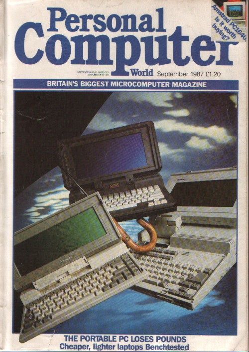 Scan of Document: Personal Computer World - September 1987