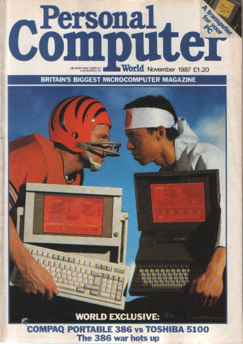 Scan of Document: Personal Computer World - November 1987