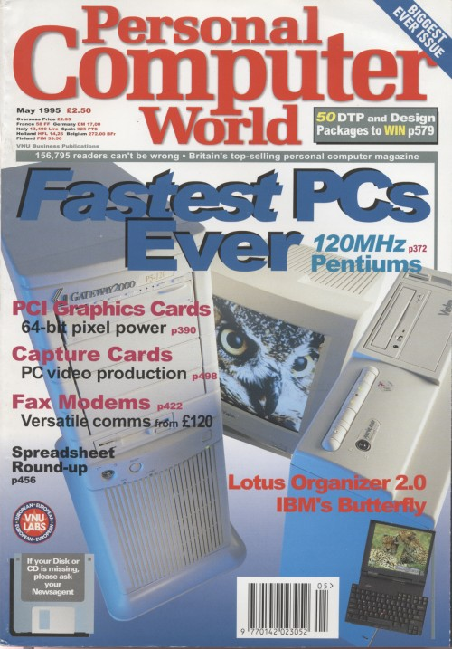 Scan of Document: Personal Computer World - May 1995
