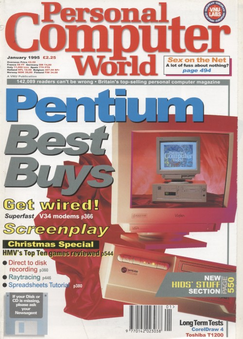 Scan of Document: Personal Computer World - January 1995