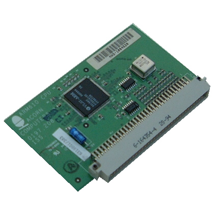 Scan of Document: Acorn ARM610 Processor Card