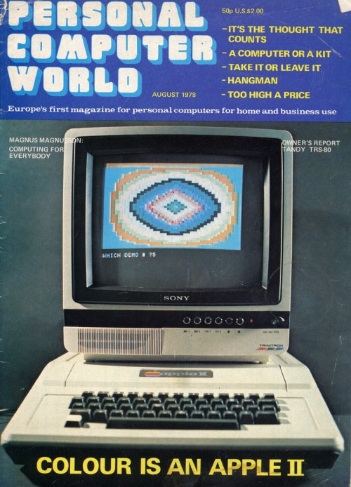 Scan of Document: Personal Computer World - August 1978