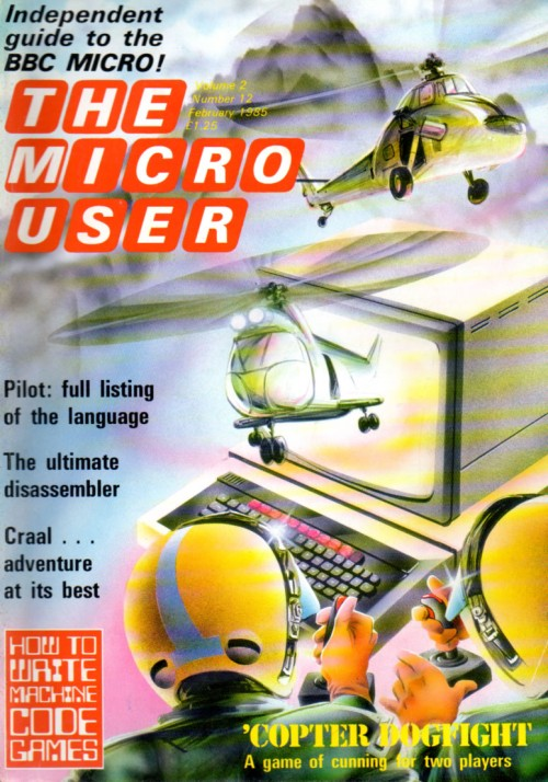 Scan of Document: The Micro User - February 1985 - Vol 2 No 12