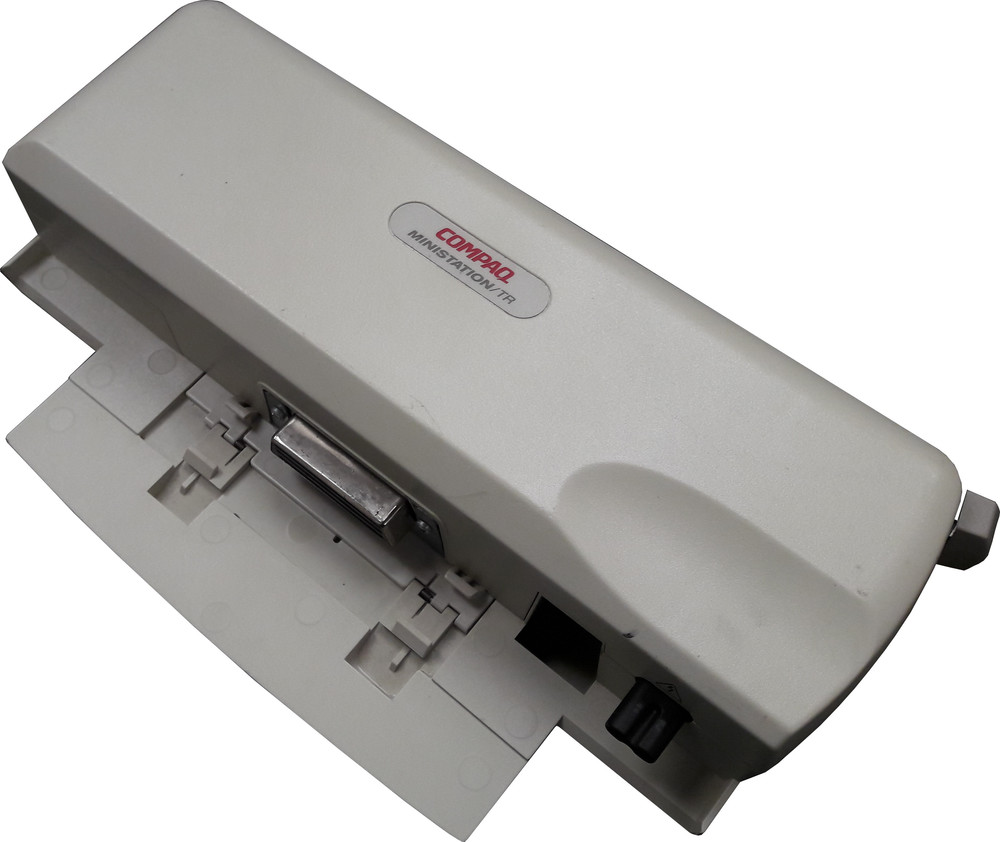 Scan of Document: Compaq Ministation/TR