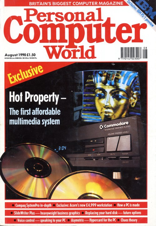 Scan of Document: Personal Computer World - August 1990